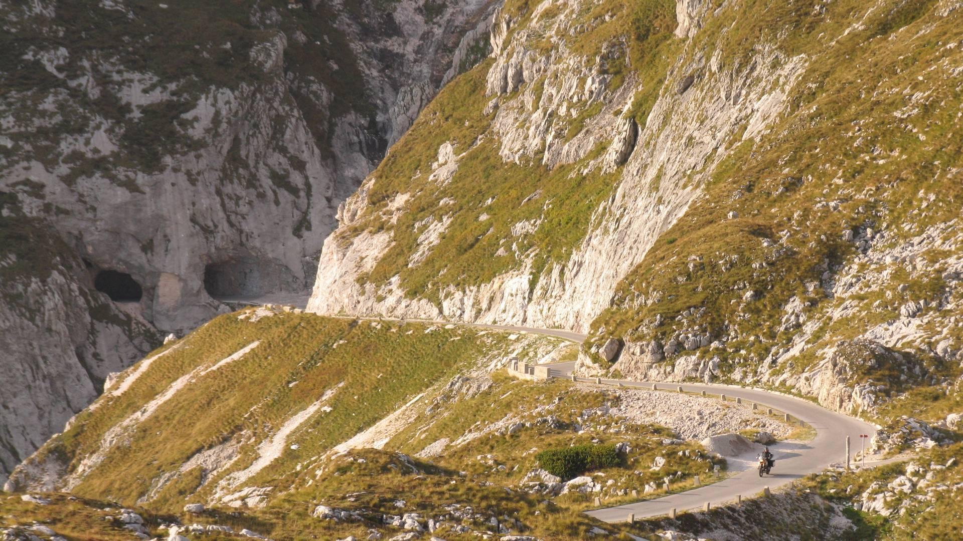 Motorradland Kärnten, Mangartstraße