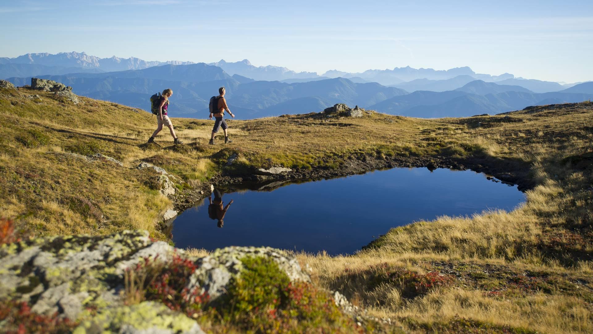 Genusswanderung am Alpe Adria Trail in der Region Millstaetter See