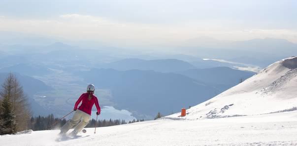 Sonnenskilauf auf der Gerlitzen Alpe