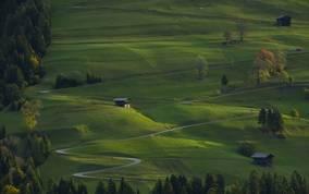 Landschaft im Lesachtal