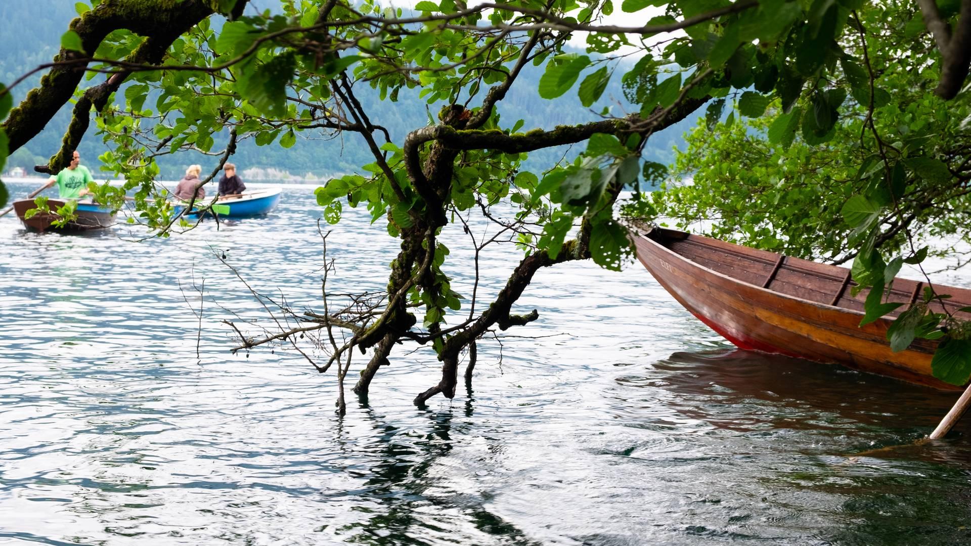 <p>Urlaub zu zweit am Millstätter See, Biwak am Campingplatz; Sabrina Schütt, Buchtenwandern</p>