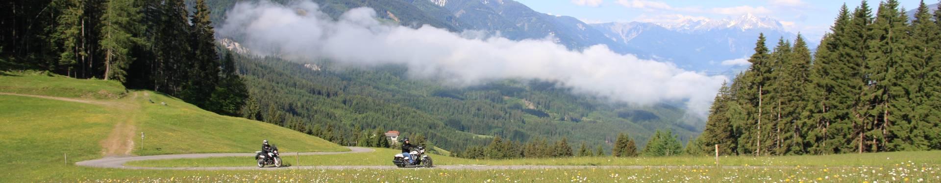 Motorradland Kärnten, Weissensee beim Tschabitscher