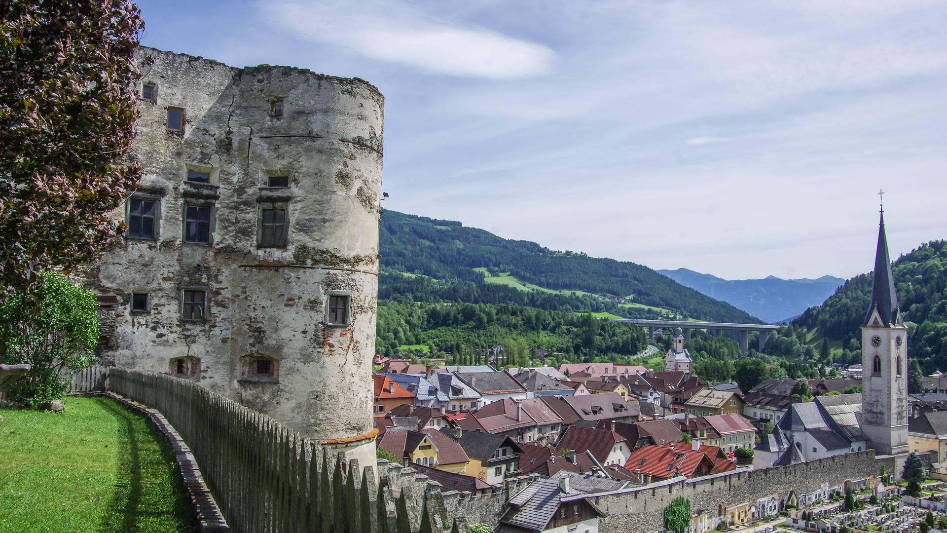 Künstlerstadt Gmünd, Alte Burg Gmünd
