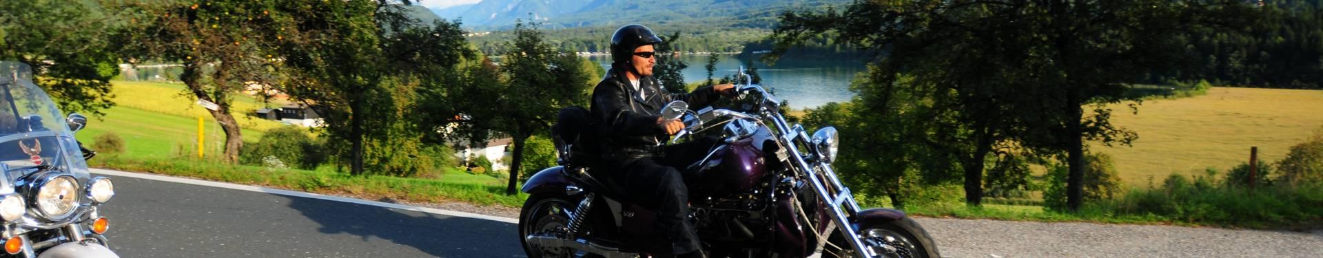 Motorradfahren in Kärnten
