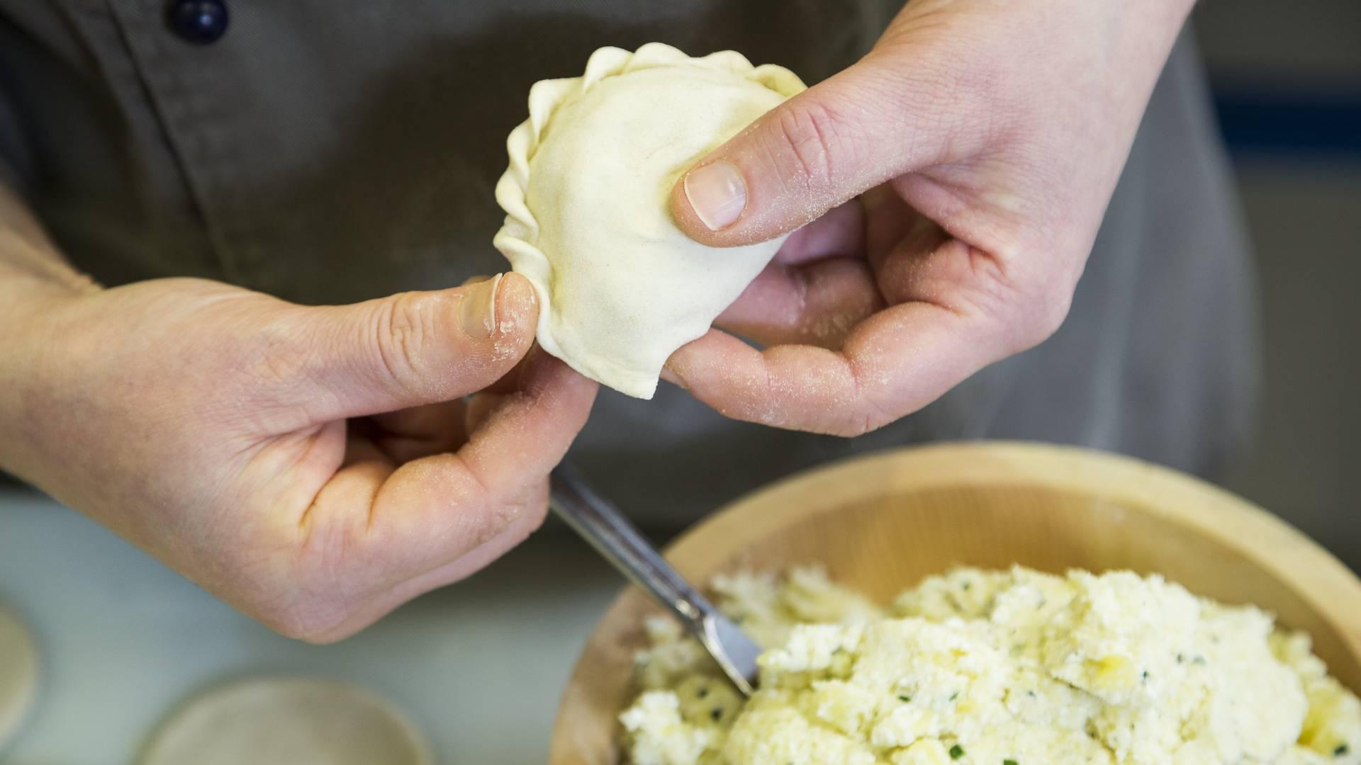 Slow Food Kärnten - Käsnudel krendln