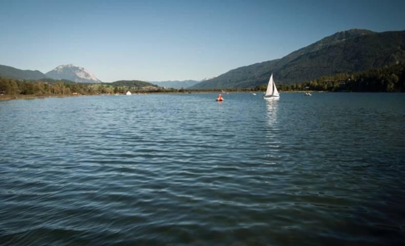 Der Pressegger See in Hermagor - Nassfeld in der Naturarena Kärnten