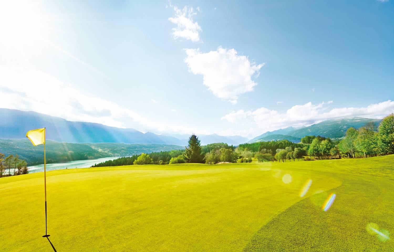<p>Golf in Kärnten, Golfland, Golfclub Millstätter See</p>