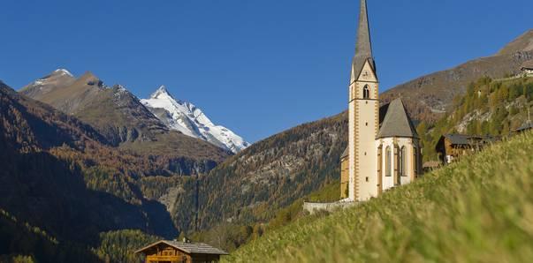 Kirche in Heiligenblut, Großglockner