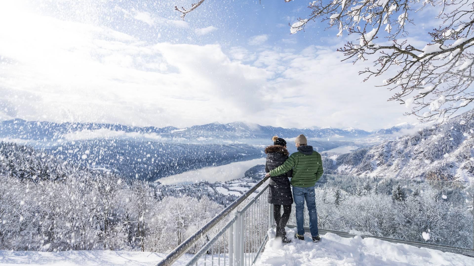 Winter am Millstaettersee