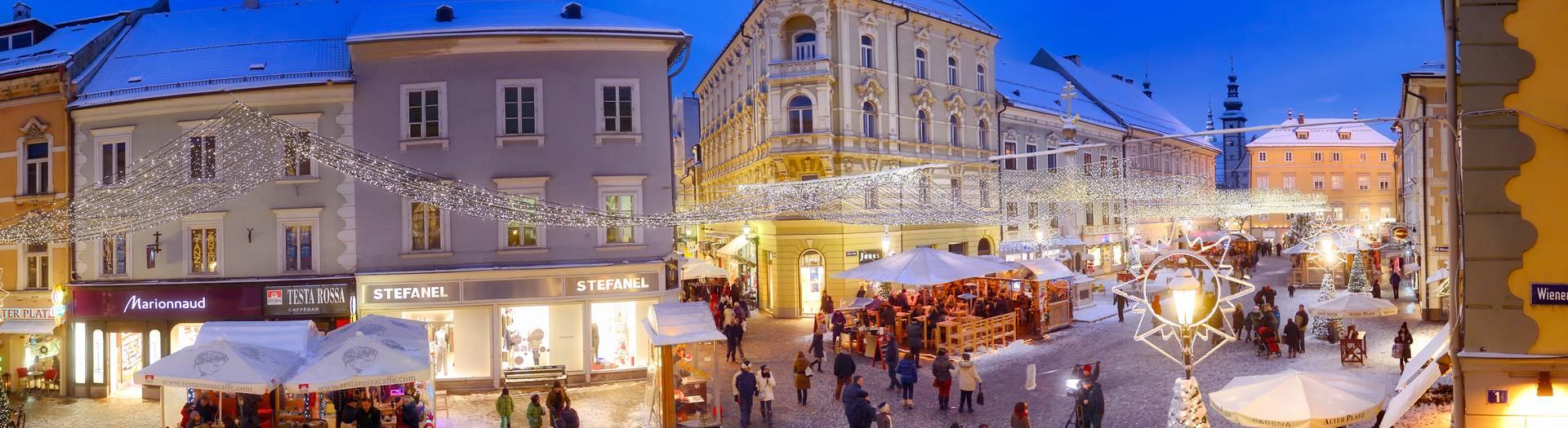 Advent Klagenfurt Alter Platz