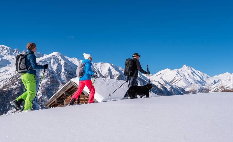 Schneeschuhwandern in Heiligenblut